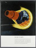 view Poster, Reentry, Mercury digital asset number 1