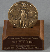 view Medal, Executive Women in Government, Sally Ride digital asset number 1