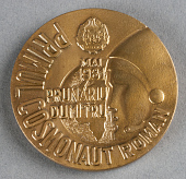 view Medal, First Rumanian Cosmonaut, Sally Ride digital asset number 1