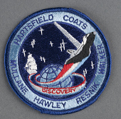 view Patch, Mission, STS-41D, Discovery, Sally Ride digital asset number 1