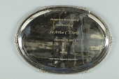 view Tray, Commemorative, Indian Space Research Organization to Arthur C. Clarke digital asset number 1