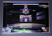 view Collage, ISS Expedition 41, Flown Patch, Autographed digital asset number 1