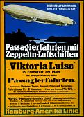 """view Passagierfahrten mit Zeppelin-Luftschiffen """"Viktoria Luise"""" digital asset number 1"""