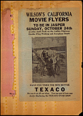 view Wilson's California Movie Flyers to Be in Jasper Sunday October 24th digital asset number 1