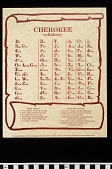 view Cherokee Syllabary digital asset number 1