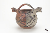 view Polychrome Two double-spouted pitcher digital asset number 1