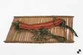 view Heddle and unfinished weaving digital asset number 1