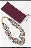 view Necklace and storage pouch digital asset number 1