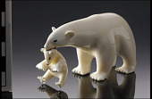 view Figure of a polar bear and cub digital asset number 1