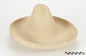 view Man's basket hat digital asset number 1