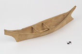 view Canoe model and paddle/paddles digital asset number 1