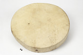 view Hand drum and drumstick digital asset number 1