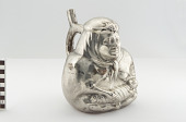 view Stirrup spout bottle depicting a mother and child digital asset number 1
