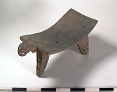 view Metate/Flat mortar in the form of a parrot digital asset number 1