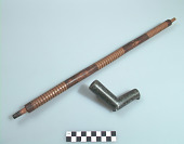 view Pipe bowl and pipestem digital asset number 1