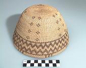 view Woman's basket hat digital asset number 1