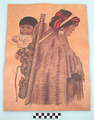 view Woman Carrying Child on Cradleboard digital asset number 1