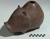 view Vessel in the form of a peccary/javelina digital asset number 1
