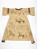 view Woman's dress depicting Hunkpapa Lakota battles with the Arikara digital asset number 1