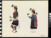 view Mountain Sheep Dance by the Santa Clara Indians digital asset number 1