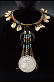 view Necklace with Andrew Jackson peace medal digital asset number 1