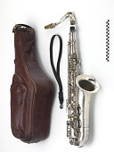 view Saxophone case and strap digital asset number 1