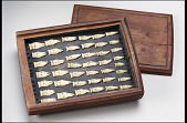 view Hunting tally in the form of a set of carved bird heads digital asset number 1