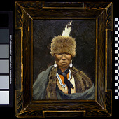 view Portrait of a Mohawk Chief digital asset number 1