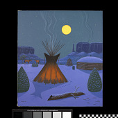 view A Teepee digital asset number 1