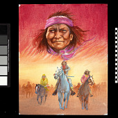 view Victory Smile (Cycle of Life of Yavapai Apache) digital asset number 1