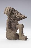 view Figure of Ehecatl, the wind god digital asset number 1