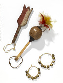 view Plume Dance accessories: scepter, rattle, and ankle rattles digital asset number 1