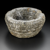 view Bowl used to hold hearts of sacrificial victims digital asset number 1
