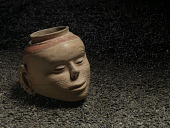 view Vessel in the form of a human head digital asset number 1