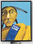 view Blue Visa digital asset number 1