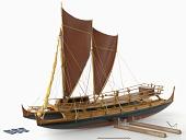 view Sailboat model digital asset number 1