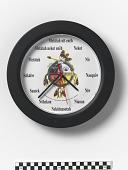 view Clock digital asset number 1