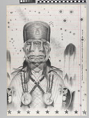 view Wah Zha Zhe Creation, 21st century Ledger Drawing #54 digital asset number 1