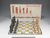 view Pre Colombian Indian chess set digital asset number 1