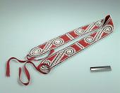 view Shoulder sash with scroll designs digital asset number 1