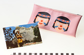 view Cosmetic case and postcard digital asset number 1