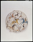 view Shield picturing battle exploits of Chief Hump (Etokeah, ca. 1848-1908) digital asset number 1