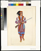view A Seminole chief, 1810 digital asset number 1