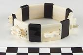 view Bracelet depicting dogsled team digital asset number 1