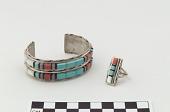 view Bracelet and finger ring digital asset number 1