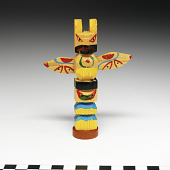 view Totem pole model digital asset number 1