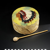 view Drum and drumstick digital asset number 1