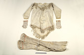 view Man's tunic, footed pants, and mittens digital asset number 1