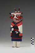 view Wakas Mana (Cow Maiden) kachina digital asset number 1