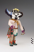 view Sai Astasana (Zuni Rain Priest of the North) kachina digital asset number 1